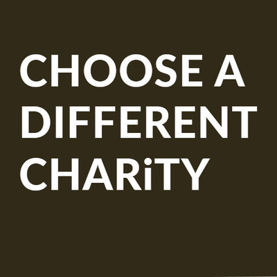 Choose another Charity